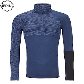 Tričko Ortovox 230 Competition Zip Neck night blue blend 2020/2021