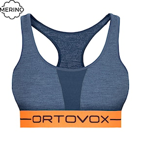 Ortovox Wms 185 Rock'n'wool Sport Top night blue blend 2020/2021