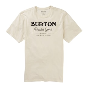 T-shirt Burton Durable Goods Ss stout white 2020/2021