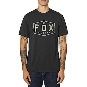 Koszulka Fox Crest Tech Tee black/green 2020