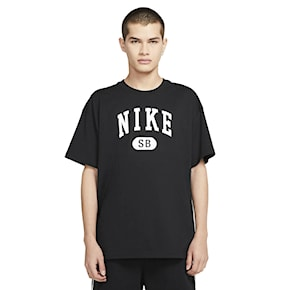 T-shirt Nike SB Collegiate black/white 2021