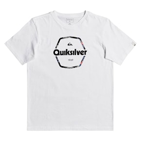 Tričko Quiksilver Hard Wired Ss Youth white 2021