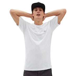 Koszulka Vans Left Chest Logo white/black 2021