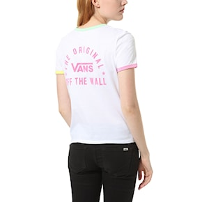 T-shirt Vans Rally Bell white/green ash 2020