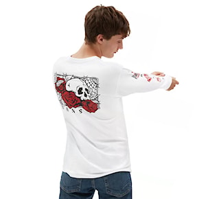 T-shirt Vans Rose Bed Ls white 2021