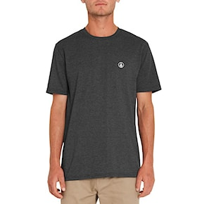 T-shirt Volcom Circle Blanks heather black 2021