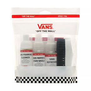 Vans Shoe Care Travel Kit white