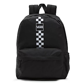 Backpack Vans Street Sport Realm black/white checkerboard 2021