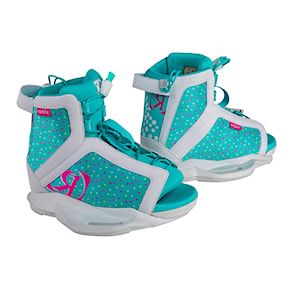 Wiązania Ronix August Girls white/pink/blue orchid 2020