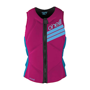 Vesta O'Neill Girls Slasher Comp Vest berry/navy 2021