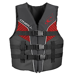 Vesta O'Neill Youth Superlite 50N Iso Vest smoke/graphite/red: white 2021