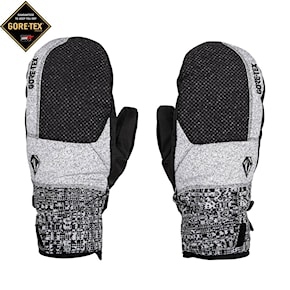 Rukavice Volcom Stay Dry Gore-Tex Mitt black check 2020/2021