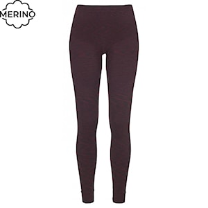 Ortovox Wms 230 Competition Long Pants dark wine blend