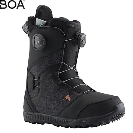 Buty Burton Felix Boa Black Snowboard Zezula