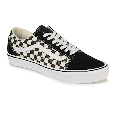 Vans Old Skool Lite Checkerboard Black White Snowboard Zezula