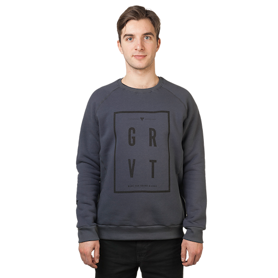 Gravity Square Crew dark grey 2017