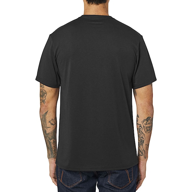 Tričko Fox Crest Tech Tee black/green 2020